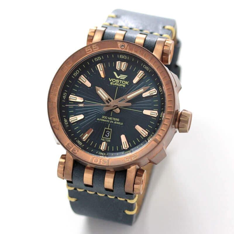 ボストークヨーロッパ VOSTOK EUROPE エネルギア ブロンズケース 世界限定3000本腕時計 NH35A-575O286