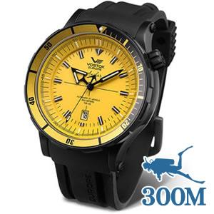 ボストーク・ヨーロッパ アンチャール世界限定モデル(イエロー)NH35A-5104144 腕時計