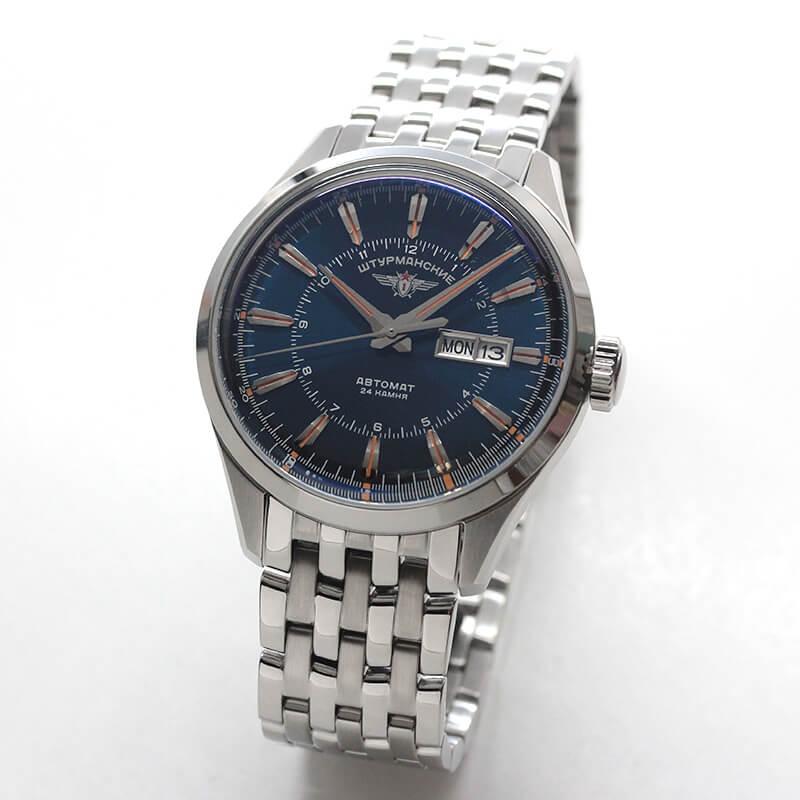シュトゥルマンスキー(STURMANSKIE)/OPEN SPACEシングルカレンダー/自動巻き/NH36-1891771B 腕時計
