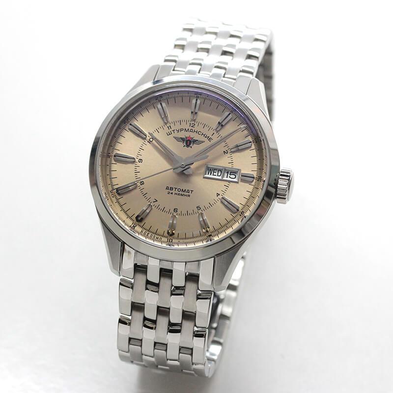 シュトゥルマンスキー(STURMANSKIE)/OPEN SPACEシングルカレンダー/自動巻き/NH36-1891772B 腕時計