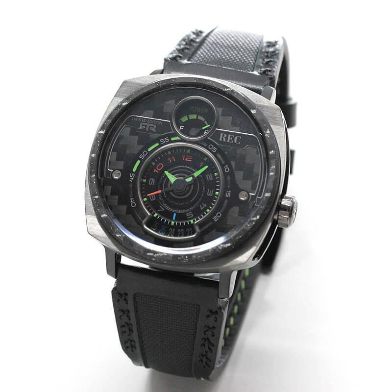 世界限定 350本 REC(レック)/P-51-RTR  マスタング(MUSTANG)  自動巻き 腕時計