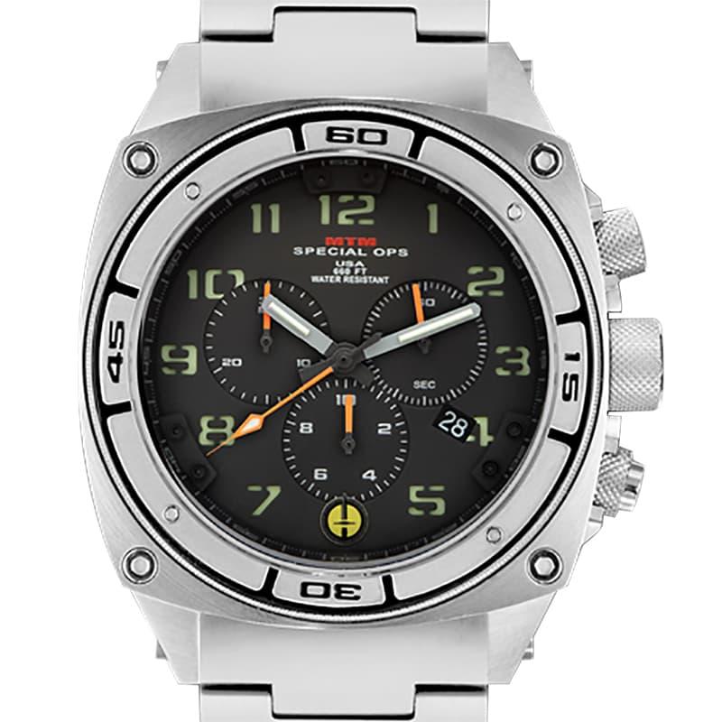 MTMスペシャルオプス/プレデター(Predator)/PR2-TSL-BBL1-MBTI-OH/クロノグラフ/腕時計