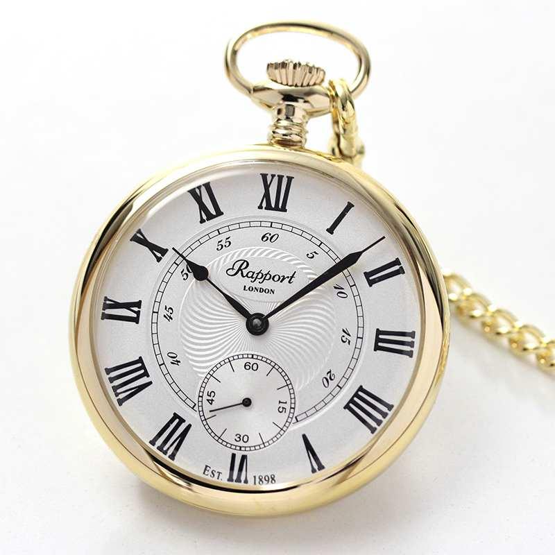 ラポート/Rapport/手巻き式/ゴールドカラー/PW22 懐中時計
