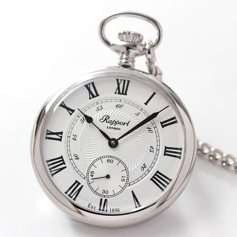 ラポート/Rapport/手巻き式/シルバーカラー/PW23 懐中時計