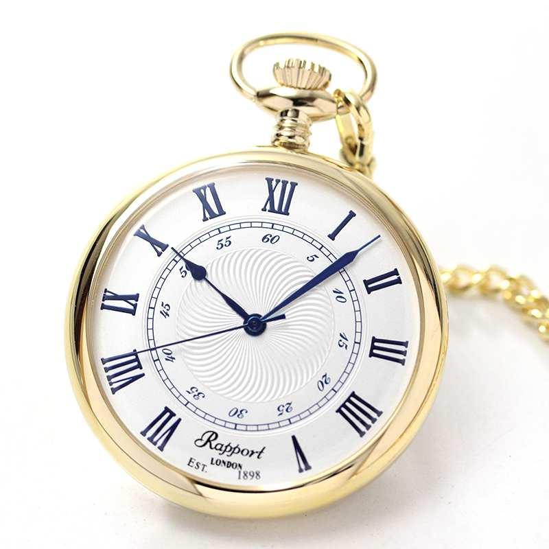 ラポート/Rapport/クォーツ式/ゴールドカラー/PW24 懐中時計