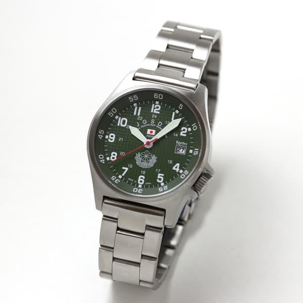 Kentex(ケンテックス)/JSDF/陸上自衛隊スタンダードモデル/ステンレスベルト/クォーツ/腕時計/S455M-09