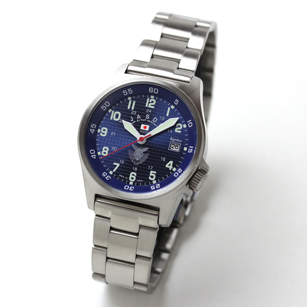 Kentex(ケンテックス)/JSDF/航空自衛隊スタンダードモデル/ステンレスベルト/クォーツ/腕時計/S455M-10