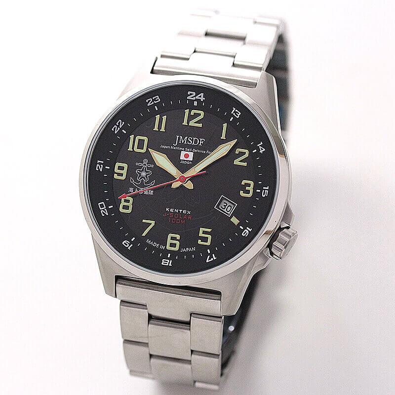 Kentex(ケンテックス)/JSDF/海上自衛隊ソーラースタンダード/S715M-06 ブラック 腕時計