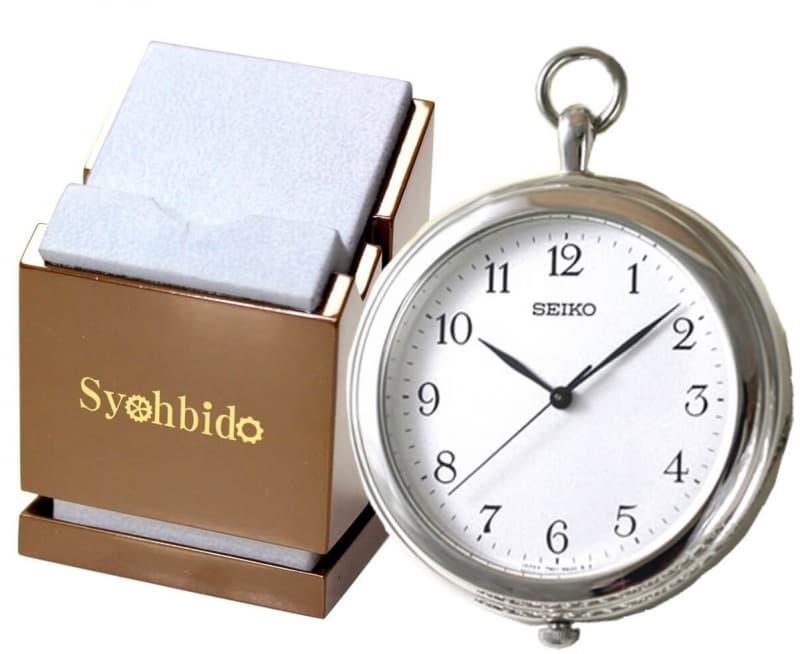 セイコー(SEIKO)懐中時計 SAPP001と正美堂オリジナル懐中時計専用スタンドのセット/懐中時計