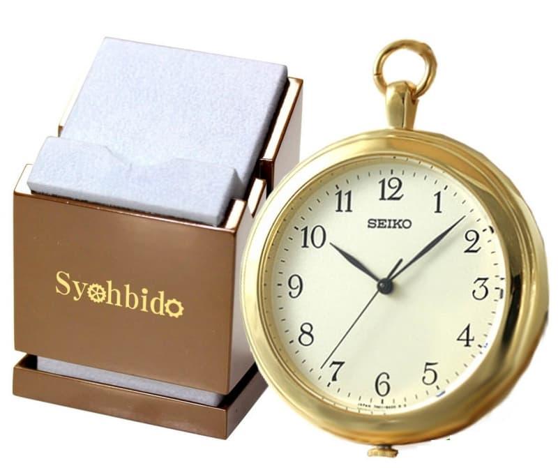 セイコー(SEIKO)懐中時計 SAPP002と正美堂オリジナル懐中時計専用スタンドのセット/懐中時計