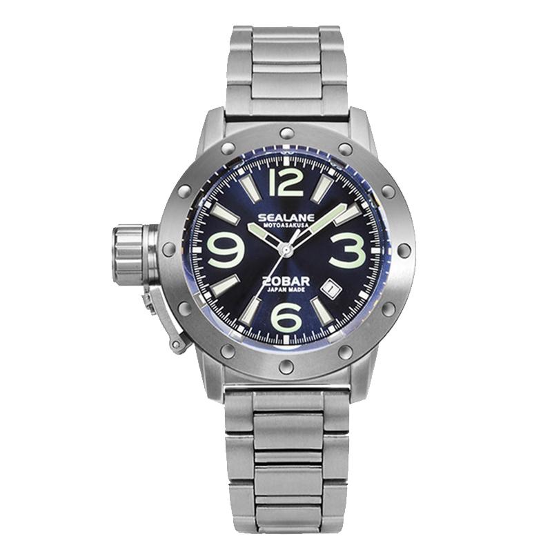 SEALANE(シーレーン) MADE IN JAPAN(日本製)/自動巻き 腕時計/SEJ010-MBL