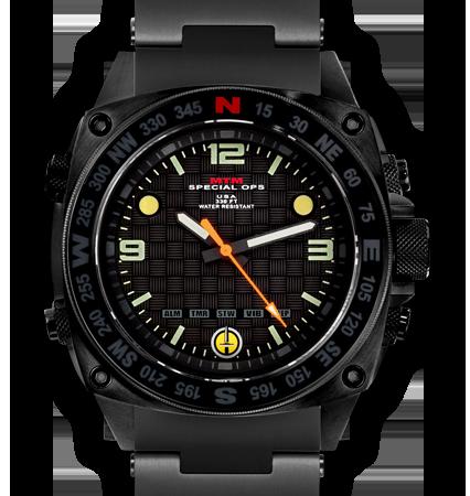 MTM Special Ops(スペシャルオプス)/SILENCER(サイレンサー)/SIL-SBK-BLCK-MBSS ブラック 腕時計