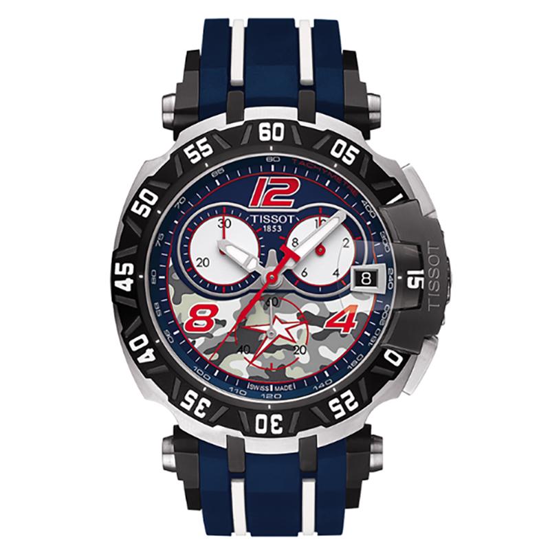 ティソ(TISSOT)ニッキー・ヘイデン(T-RACE NICKY HAYDEN)T092.417.27.057.03/2016年限定モデル 腕時計