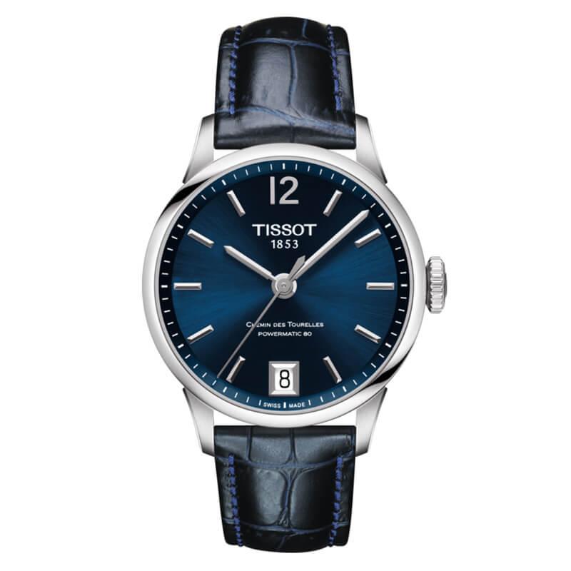取扱中止、最後の1本のため割引価格  ティソ シュマン・デ・トゥレル(CHEMIN DES TOURELLES)オートマティック T099.207.16.047.00 パワーマティック80 腕時計