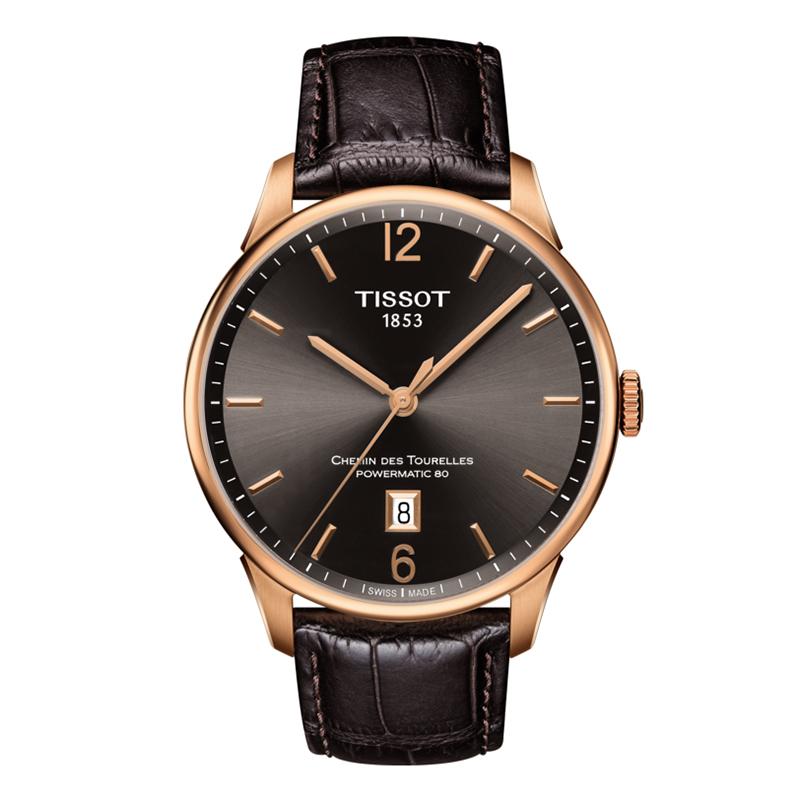 TISSOT(ティソ) シュマン・デ・トゥレル(CHEMIN DES TOURELLES AUTOMATIC GENT)T099.407.36.447.00 パワーマティック80 腕時計