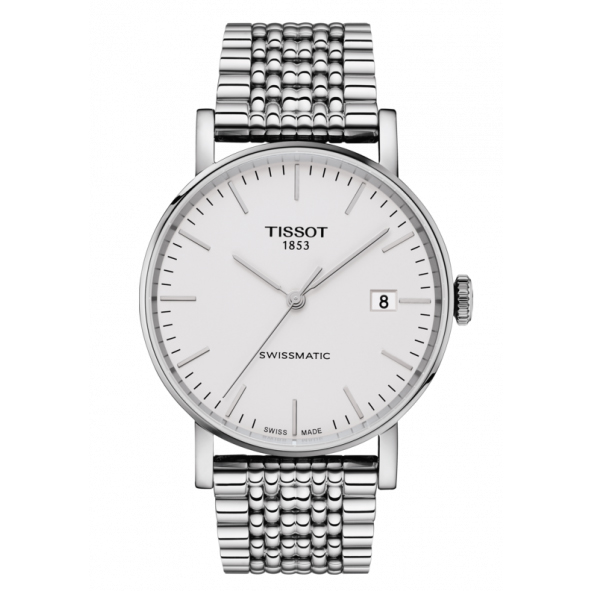 TISSOT(ティソ)  Everytime(エブリタイム) 自動巻き 90時間パワーリザーブ T109.407.11.031.00 腕時計