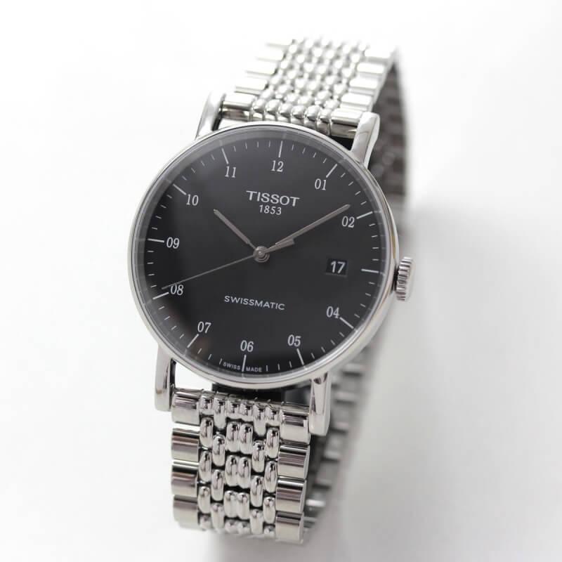 TISSOT(ティソ) Everytime(エブリタイム) 自動巻き 90時間パワーリザーブ T109.407.11.052.00 腕時計