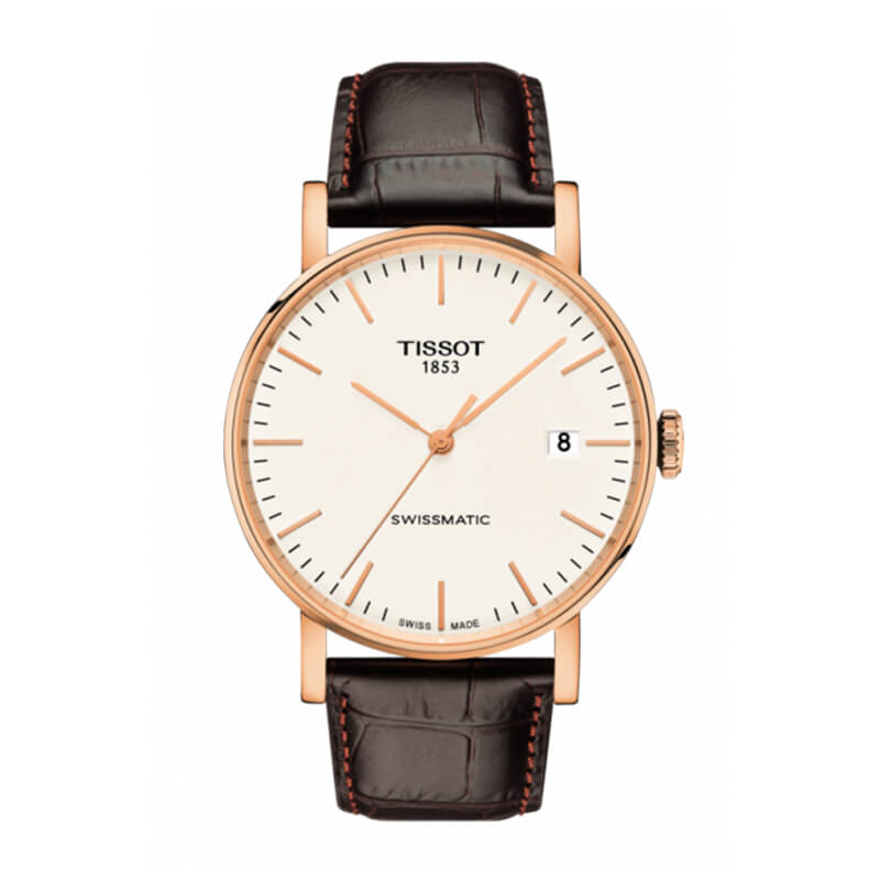 TISSOT(ティソ)  Everytime(エブリタイム) 自動巻き 90時間パワーリザーブ T109.407.36.031.00 腕時計