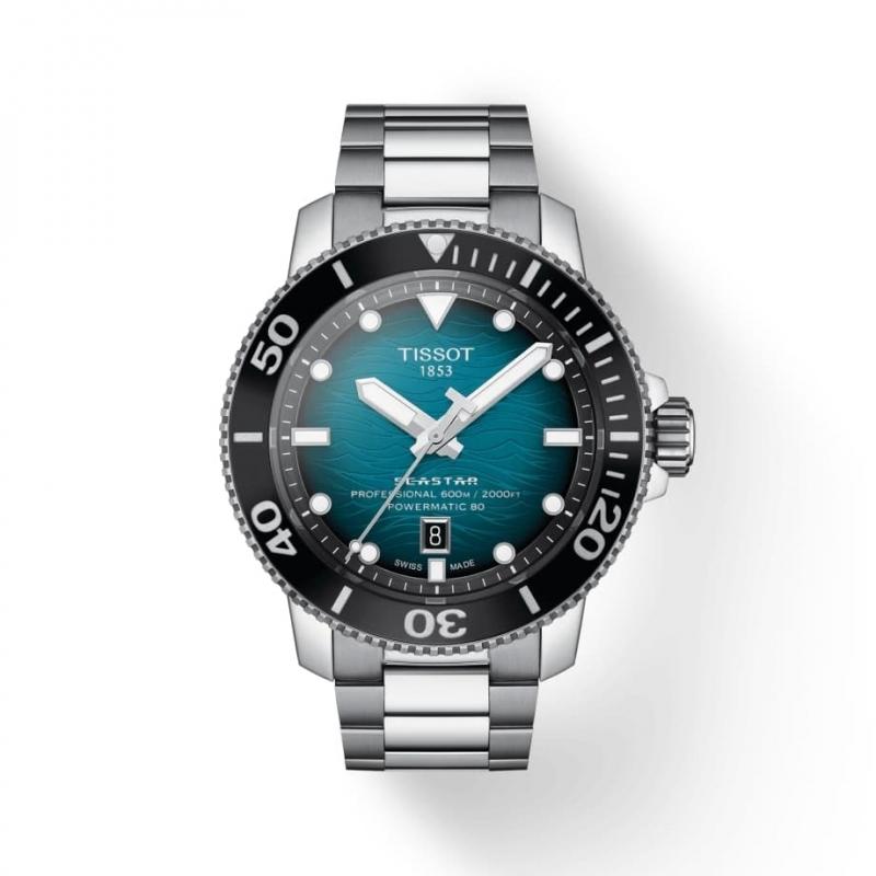 TISSOT(ティソ)Seastar 2000 (シースター2000) オートマティック 腕時計 T120.607.11.041.00