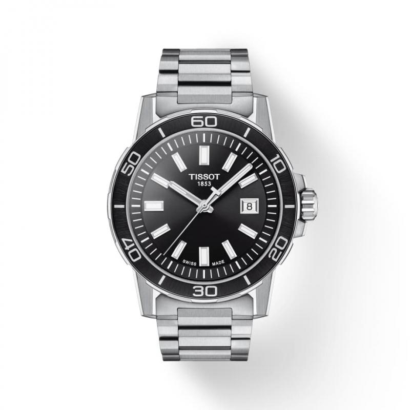 ティソ(TISSOT) スーパースポーツ クォーツ T125.610.11.051.00 腕時計 ブラック
