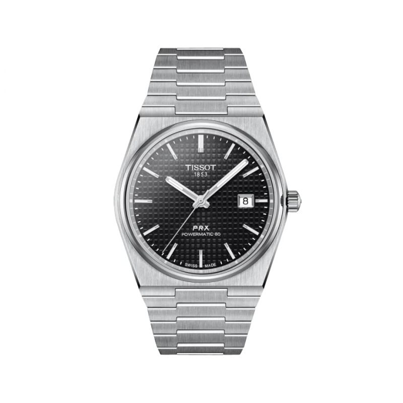TISSOT(ティソ) PRX メンズ オートマティック 腕時計 ブラック T137.407.11.051.00
