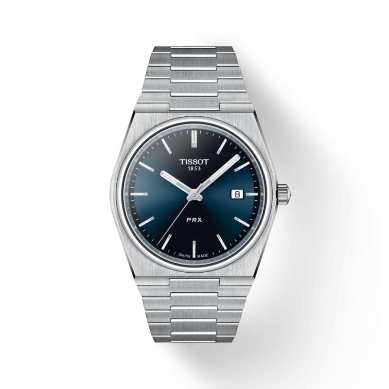 TISSOT(ティソ) PRX ピーアールエックス 腕時計 ブルー T137.410.11.041.00