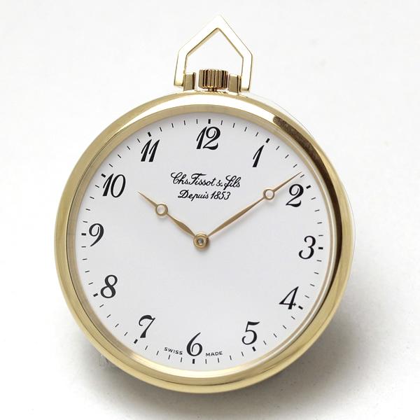ティソ/TISSOT/金無垢/薄型/T82.3.408.12 懐中時計
