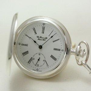 ティソ/TISSOT/ハンターケース/銀無垢/T83.1.452.13 懐中時計