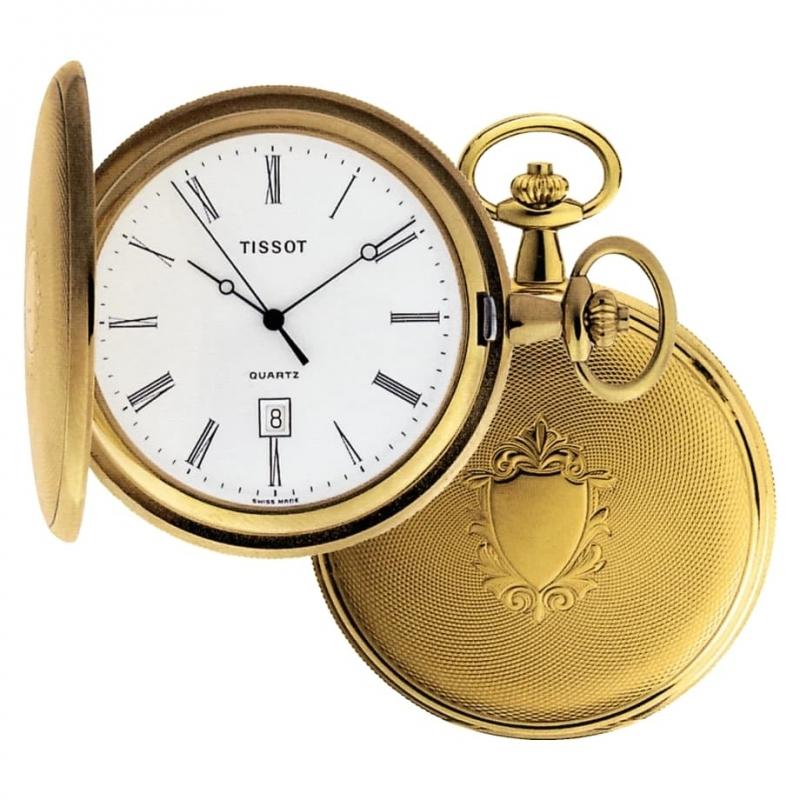 TISSOT(ティソ)クォーツ式 T83.4.508.13 懐中時計