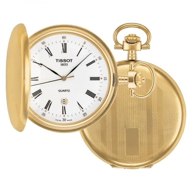 TISSOT(ティソ)クォーツ T83.4.553.13 懐中時計