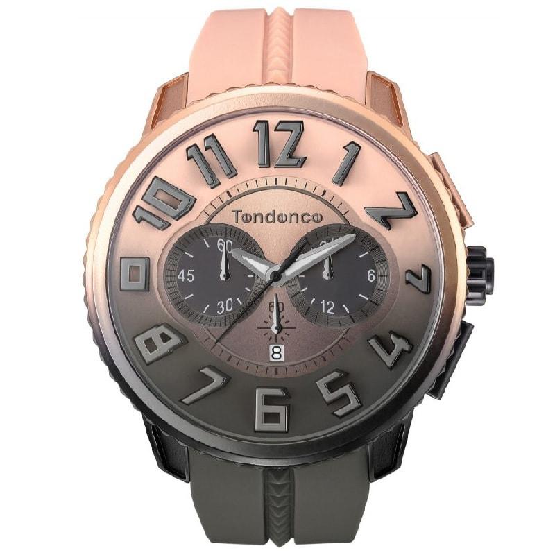 Tendence(テンデンス)De'Color(ディカラー) TY146102 デザート(砂漠)カラー ベージュ×ブラック/腕時計