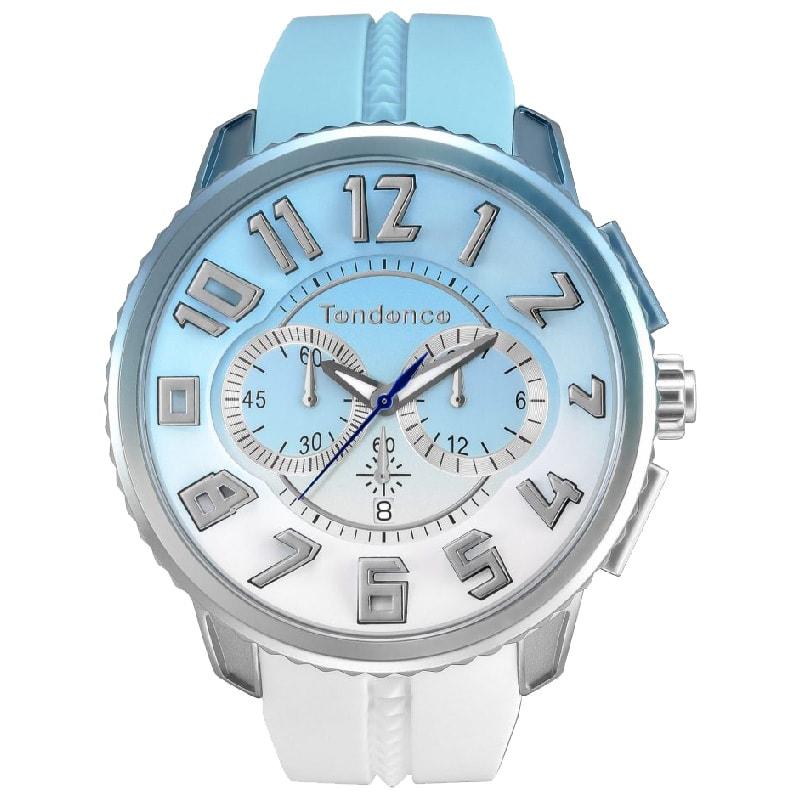 Tendence(テンデンス)De'Color(ディカラー) TY146105 スカイ(空)カラー スカイブルー×ホワイト/腕時計