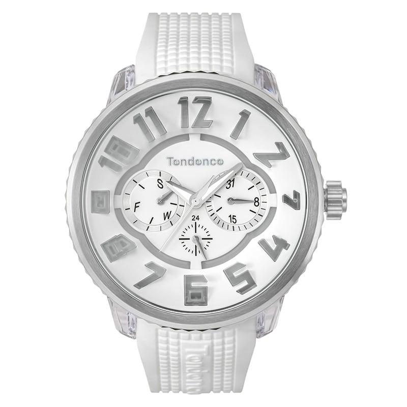 Tendence(テンデンス)FLASH(フラッシュ)2018モデル TY562002 ホワイト 腕時計