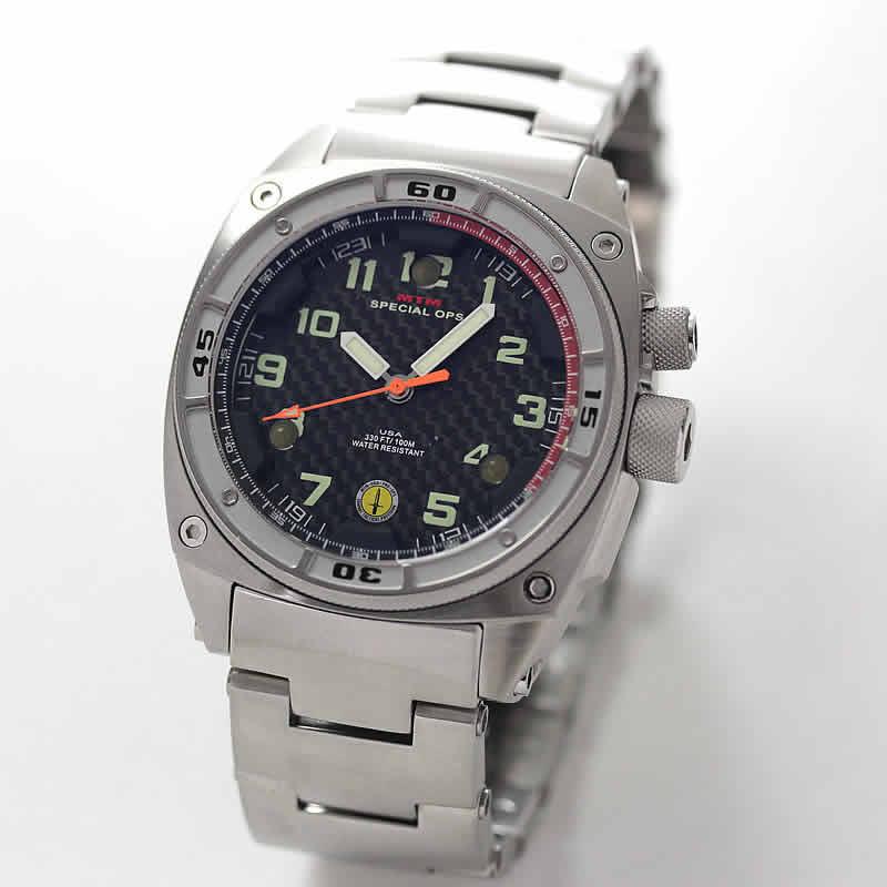 MTM スペシャルOPS シルバーファルコン TI088S 腕時計