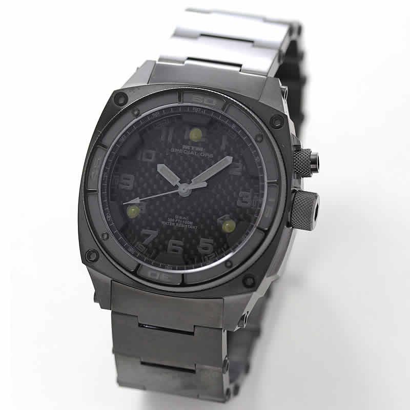 MTMスペシャルオプス/ブラックオンブラック/MTM-TI099BB 腕時計