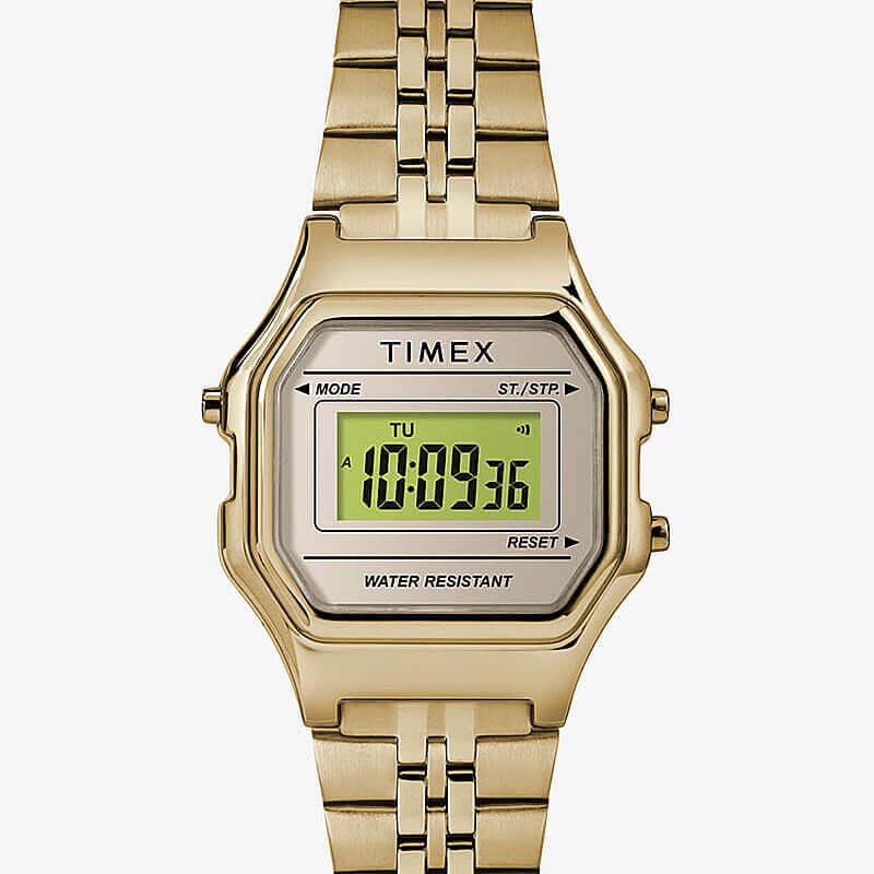 TIMEX(タイメックス) クラシック デジタル ミニ ゴールド ブレス TW2T48400 女性用 腕時計