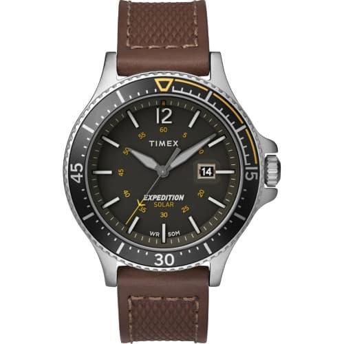 TIMEX(タイメックス)/タイメックス エクスペディション レンジャーソーラー グリーン×ブラウン  TW4B15100/腕時計