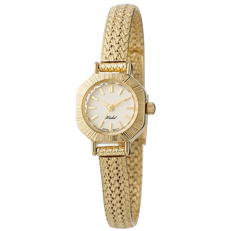 VIDA+ Curious(キュリアス)V-004GM ゴールド レディース 腕時計