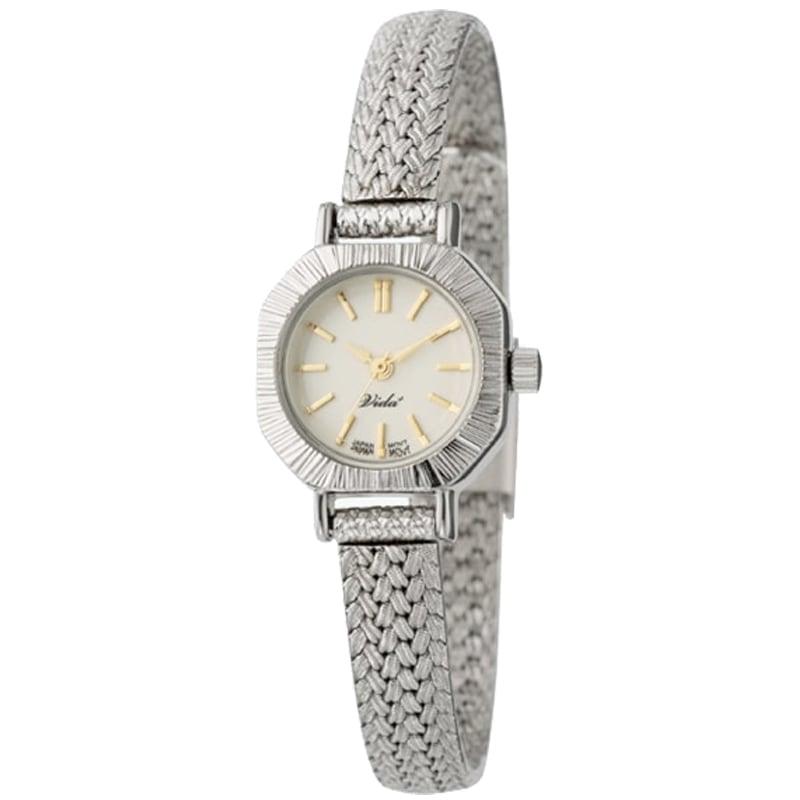 VIDA+ Curious(キュリアス)V-004SM シルバー レディース 腕時計