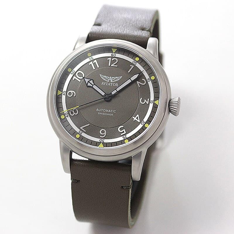 AVIATOR(アビエイター) DOUGLAS DAKOTA(ダグラス ダコタ) パイロットウォッチV.3.31.0.227.4 腕時計(フライトジャケット付き)