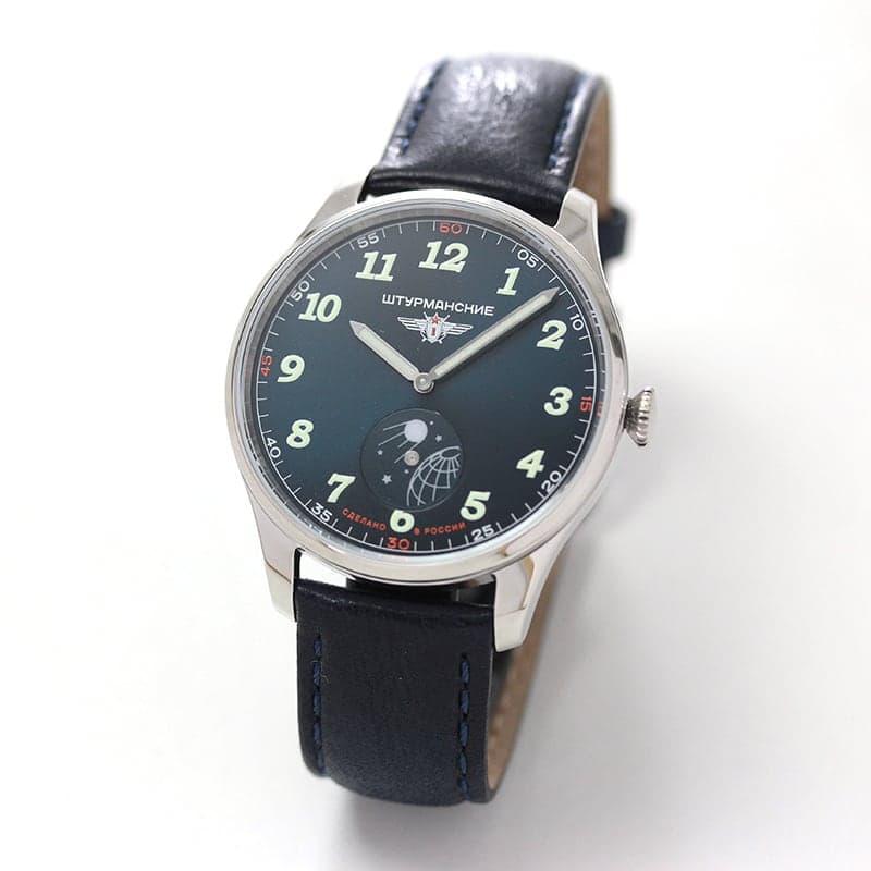 STURMANSKIE(シュトゥルマンスキー) HERITAGE SPUTNIK(ヘリテージ スプートニク) ダークブルー クォーツ VD78/6811421 腕時計