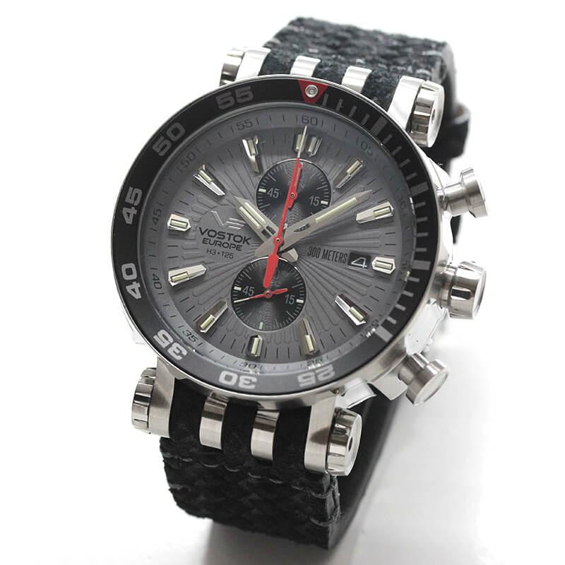 VOSTOK EUROPE(ボストーク ヨーロッパ) エネルギア-2 VK61-575A588 グレー 腕時計