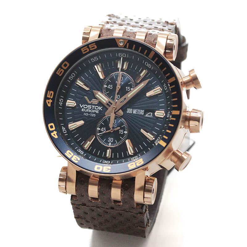 VOSTOK EUROPE(ボストーク ヨーロッパ) エネルギア-2 VK61-575B590 ブルー 腕時計