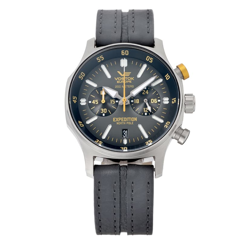 VOSTOK EUROPE(ボストーク ヨーロッパ)Expedition North Pole(エクスペディション・ノースポール) VK64-592A560 クロノグラフ 腕時計