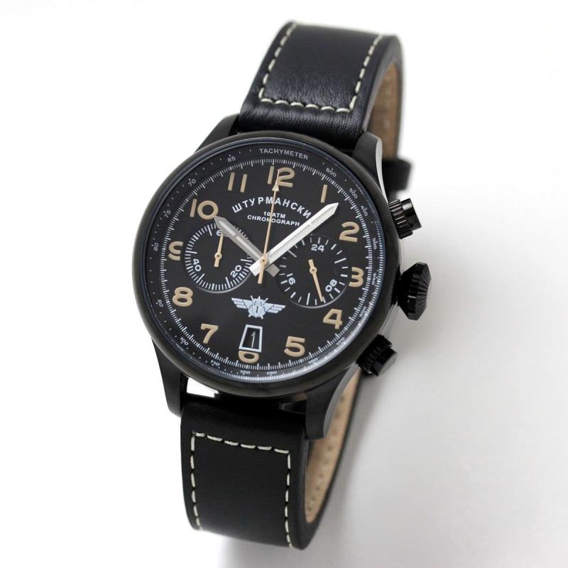 シュトゥルマンスキー(STURMANSKIE)/SPACE PIONEERS(スペースパイオニア) クロノグラフ・クォーツ/VK64-3354851 腕時計