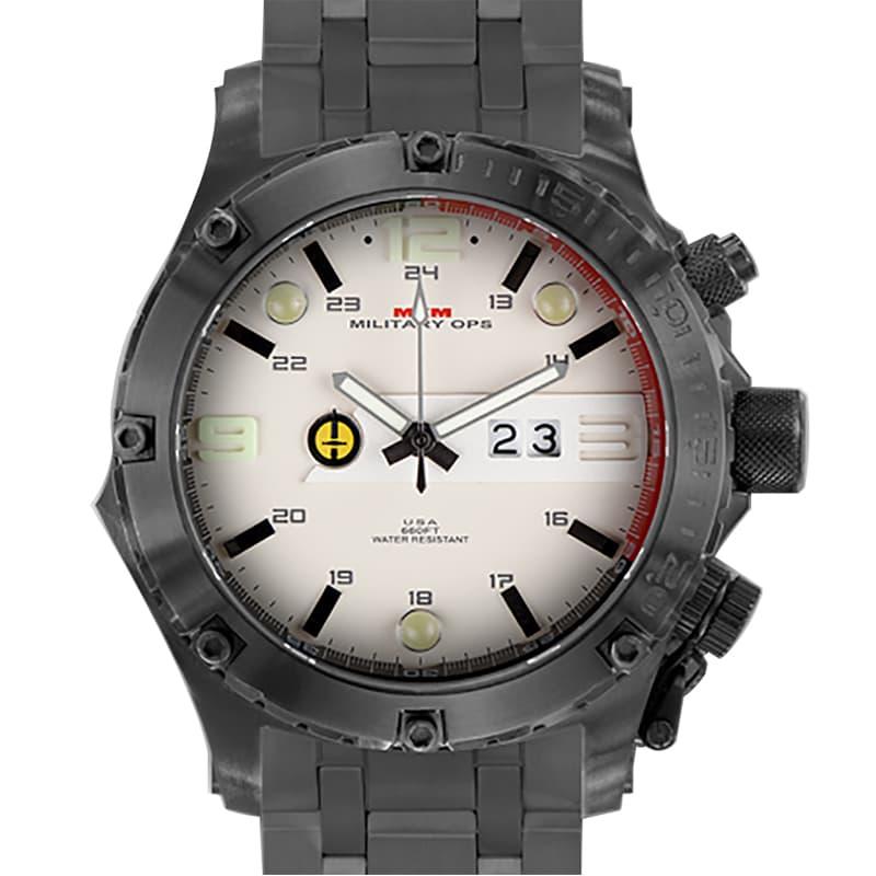 MTMミリタリーオプス/ヴァルチャー/ブラック/チタニウム/VUL-TBK-TAN1-MBTI/腕時計