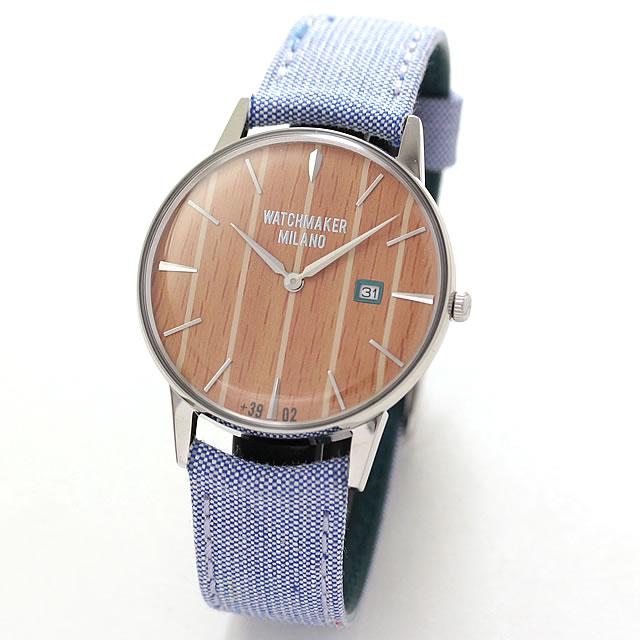 取扱中止、最後の1本のため割引価格 WATCHMAKER MILANO(ウォッチメーカー ミラノ)Ambrogio Week End アンブロジオ ウィークエンド WM.AWE.02 腕時計