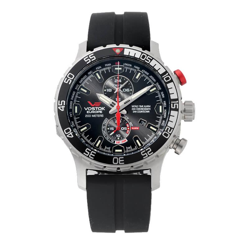 VOSTOK EUROPE(ボストーク ヨーロッパ) エクスピディション エベレスト アンダーグラウンド  YM8J-597A549 ブラック 腕時計