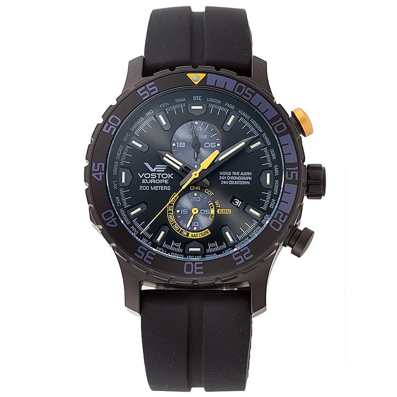 VOSTOK EUROPE(ボストーク ヨーロッパ) エクスピディション エベレスト アンダーグラウンド YM8J-597C547 ブラック 腕時計