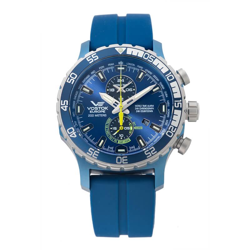 VOSTOK EUROPE(ボストーク ヨーロッパ) エクスピディション エベレスト アンダーグラウンド  YM8J-597E546 ブルー 腕時計